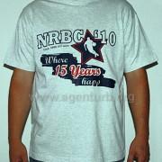 Shirt (Bestellware) 2-farbig mit Flexfolie
