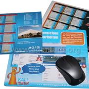 Mousepads in verschiedenen Größen und Formen