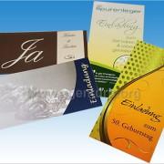 Einladungskarten f. verschiedene Anläße