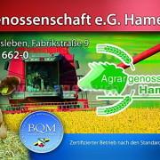 Bannerdruck für die Agrargenossenschaft Hamersleben e.G.
