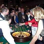 Roulette im Hotelfoyer
